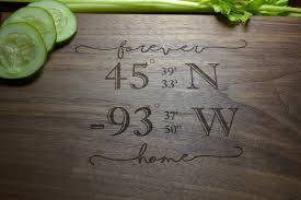 gifts for new apartment owners real estate closing gift cutting board great for a wedding