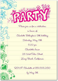 9 best images of 13th birthday party invitation ideas 13th
