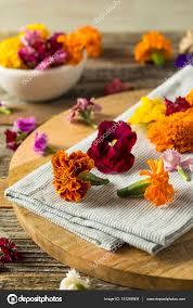 organic edible flowers organic edible flowers stock photo bhofack2 151288908