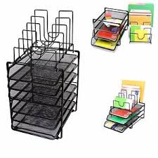 Stackable Desk Organizer Stackable Desk Organizer Trays Shelf File Holder Storage Papers