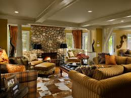 Southwest Style Homes by Graceful Country Style Living Room Interior Design Ideas Style