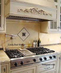 kitchen backsplash medallion backsplash medallions fireplace basement ideas