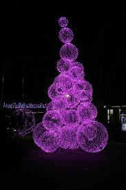Christmas Light Ideas by Purple Christmas Tree Lights Nana U0027s Workshop