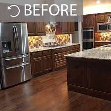 pictures of black stained kitchen cabinets kitchen painting projects before and after paper moon painting