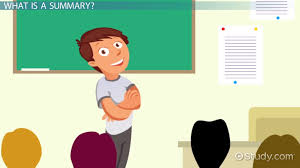 what is a summary definition u0026 concept video u0026 lesson