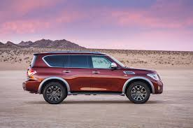 nissan armada on 26 inch rims 2017 nissan armada takes on the toyota land cruiser