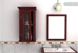 Computer Cabinet Online India Buy Wooden Bathroom Cabinets Online Only At Wooden Street