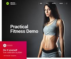 Online Clothing Store Website Builder 20 Best Wordpress Fitness Themes 2017 For Gym And Fitness Centers