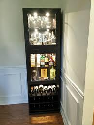 ikea liquor cabinet build liquor cabinet liquor and bar