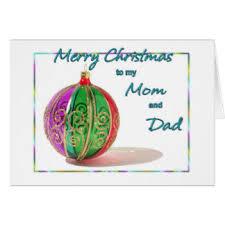 mom dad merry christmas cards u0026 invitations zazzle uk