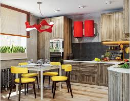 dynamic one room apartment interior for young people u0026 fans of red