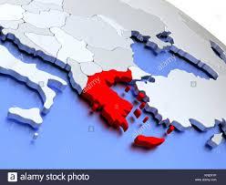Greece On World Map Map Of Greek World Stock Photos U0026 Map Of Greek World Stock Images