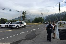 Wildfire Bc Perimeter Map by Update Monte Lake Wildfire 30 Per Cent Contained Salmon Arm