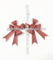 christmas ribbon bows 2016 christmas party decorations rust matte poly ribbon