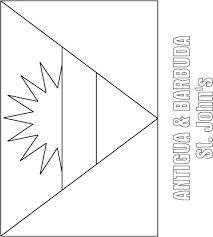 flag of egypt coloring page antigua u0026 barbuda flag coloring page download free antigua