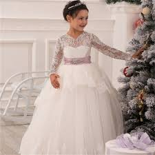 graduation dresses for kids aliexpress buy ivory lace flower girl communion dresses
