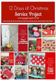 12 days of service project service service