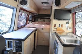 camper van with bathroom sprinter camper