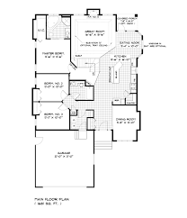 floor plan single storey bungalow house plans free designs and