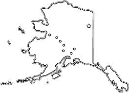 alaska flag coloring page free download
