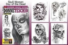 day of the dead skull flash design book 66 pages