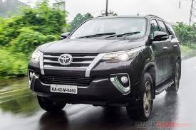 Toyota Fortuner Beats Ford Endeavour In Sales For Nov 2016