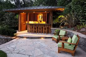 How To Make Tiki Hut Outdoor Tiki Bar Houzz