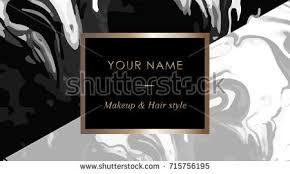 luxury set makeup artist hair stylist stock vector 715759978