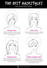 best hairstyle for your face shape dermstore blog