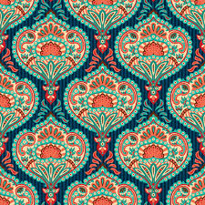 paisley pattern vector ornate paisley pattern seamless vector free vector in encapsulated