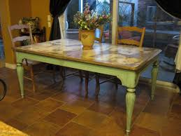 distressed kitchen table r clean wood dining canada ireland room