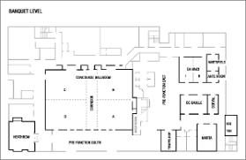 atlanta airport floor plan wedding venues in atlanta georgia renaissance concourse atlanta