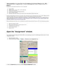 tutorial p6 microsoft excel spreadsheet