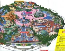 Disney World Map Magic Kingdom by Disneyland Magic Kingdom Map 2001 This Map Is From Februar U2026 Flickr