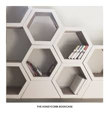 Cool Shelving Cool Shelving Idea Set Of 3 Honeycomb Bookcase Recyclable