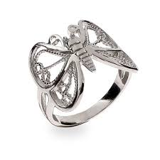 rings butterfly images Silver butterfly ring eve 39 s addiction jpg