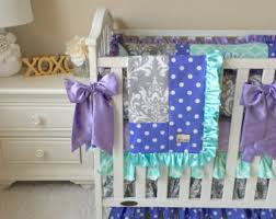 Bedding Sets For Baby Girls by Monogrammed Bedding Etsy