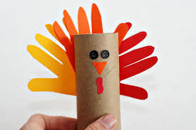 gobble gobble make a paper turkey craft