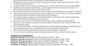 student respiratory therapist cover letter respiratory therapy