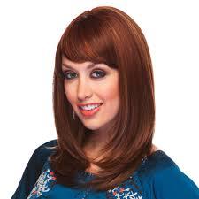 hairstyles bob with bangs medium length heat friendly shoulder length bob wig w graduated layers u0026 rich bangs