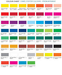 Red Colour Shades 12 Shade Poster Colours Premium Poster Colours Kokucamlin