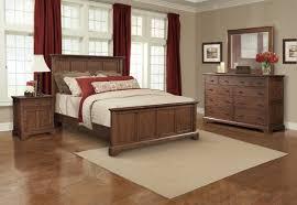 appealing bedroom with fireplace for calmness rest cresent furniture retreat cherry queen panel configurable bedroom