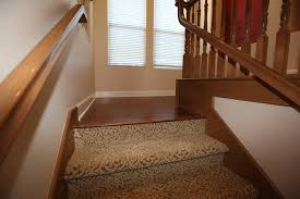 Golden Select Walnut Laminate Flooring Laminate Flooring Transition To Stairs