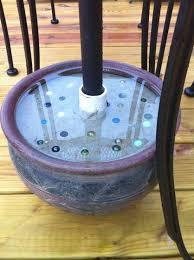 Patio Umbrellas And Stands How To Make Sturdy Umbrella Stands For 15 Yards Backyard