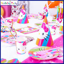 hello party supplies aliexpress buy 84pcs children s birthday party supplies