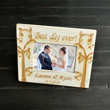 Personalized Wedding Photo Frame Aliexpress Com Buy Personalized Retro White Frame Wedding