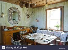 scotland inner hebrides jura the dining room set for lunch in