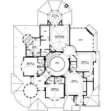 victorian style house plan 4 beds 4 50 baths 5250 sq ft plan