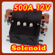 2011 model winches solenoid 12v 500a suitable10000lb to 16800lb