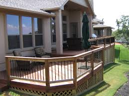 Unusual Decking Ideas by Fresh Unique Railing Design For Deck 10070